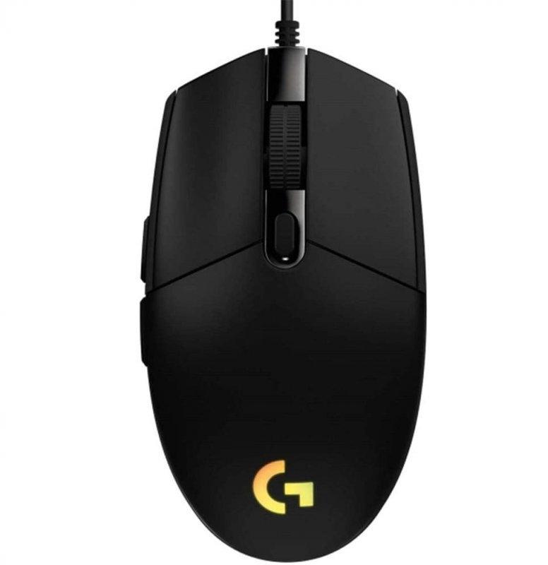 Logitech - Rato Logitech G102 Lightsync Gaming - Preto