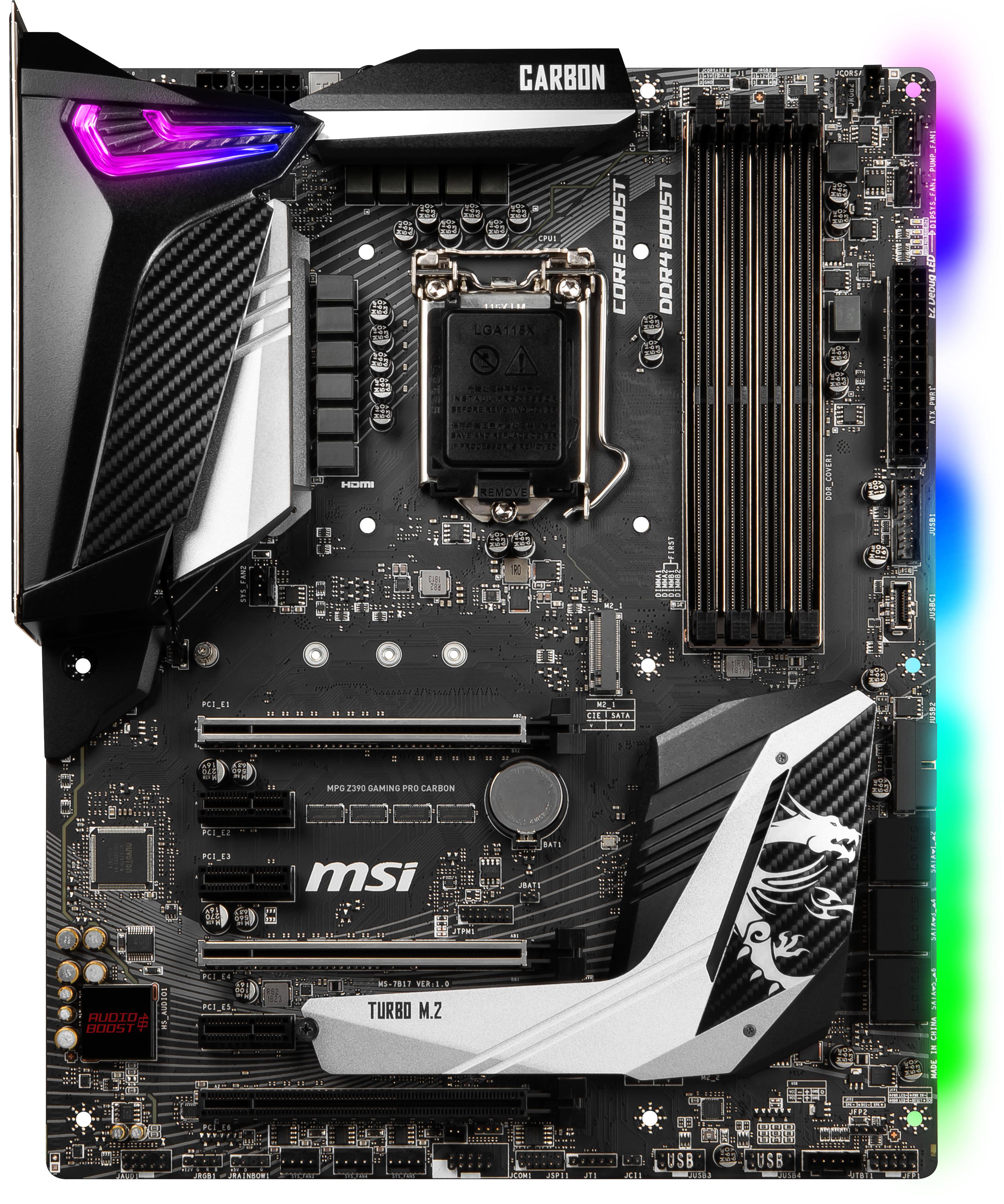 MSI - Motherboard MSI MPG Z390 GAMING PRO CARBON
