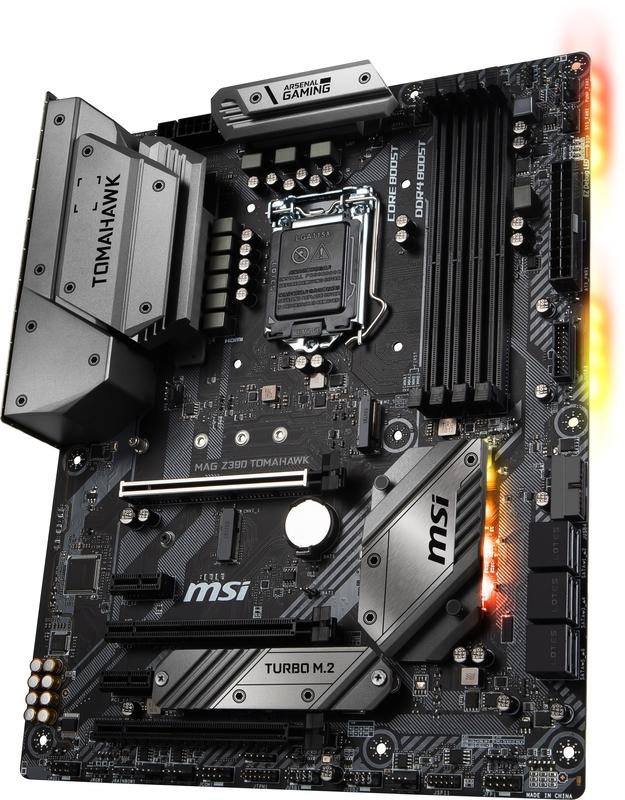 MSI - ** B Grade ** Motherboard MSI MAG Z390 TOMAHAWK