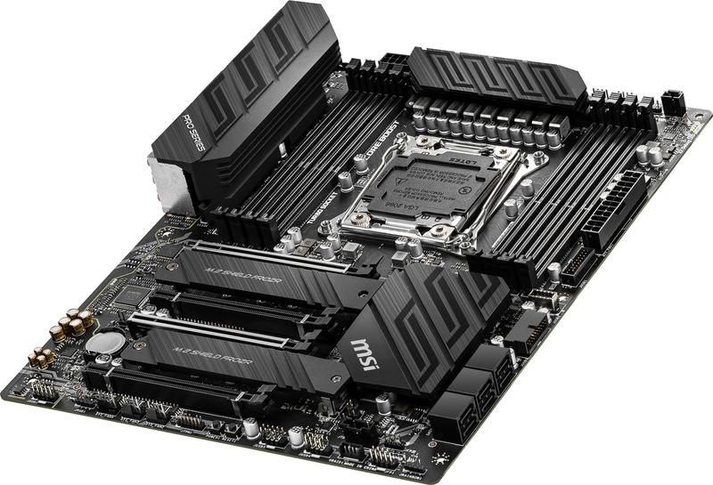 MSI - Motherboard MSI X299 PRO 10G
