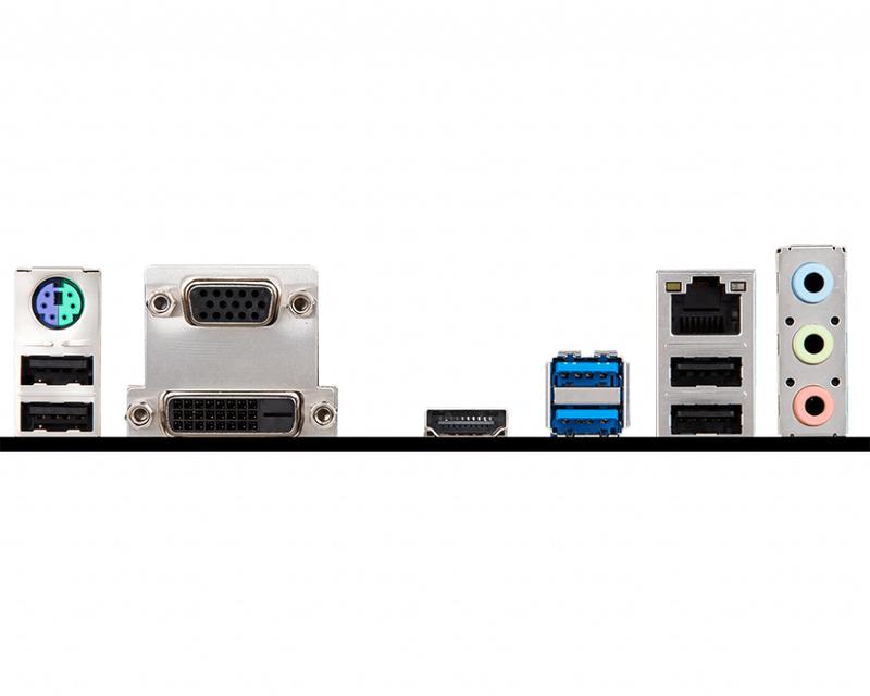 MSI - Motherboard MSI H310M PRO-VDH PLUS