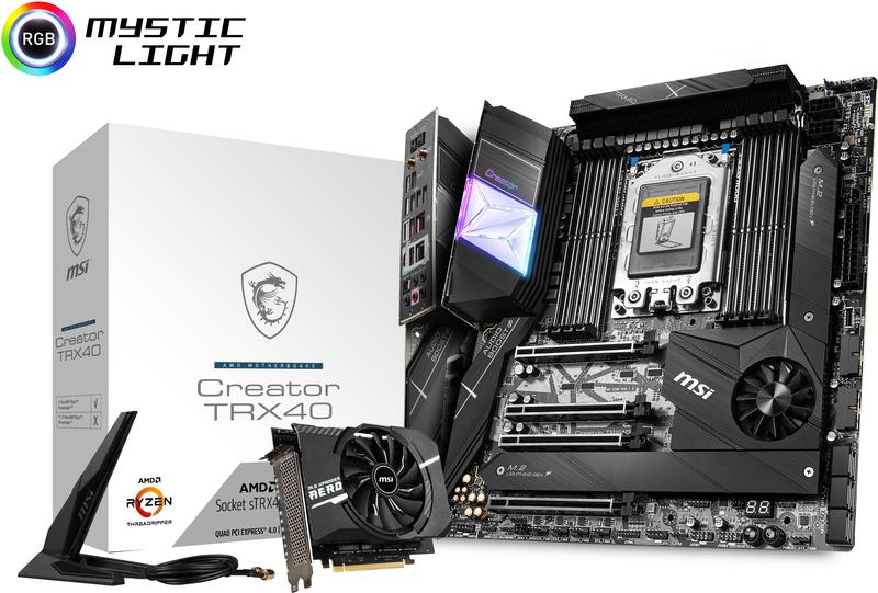 Motherboard MSI Creator TRX40