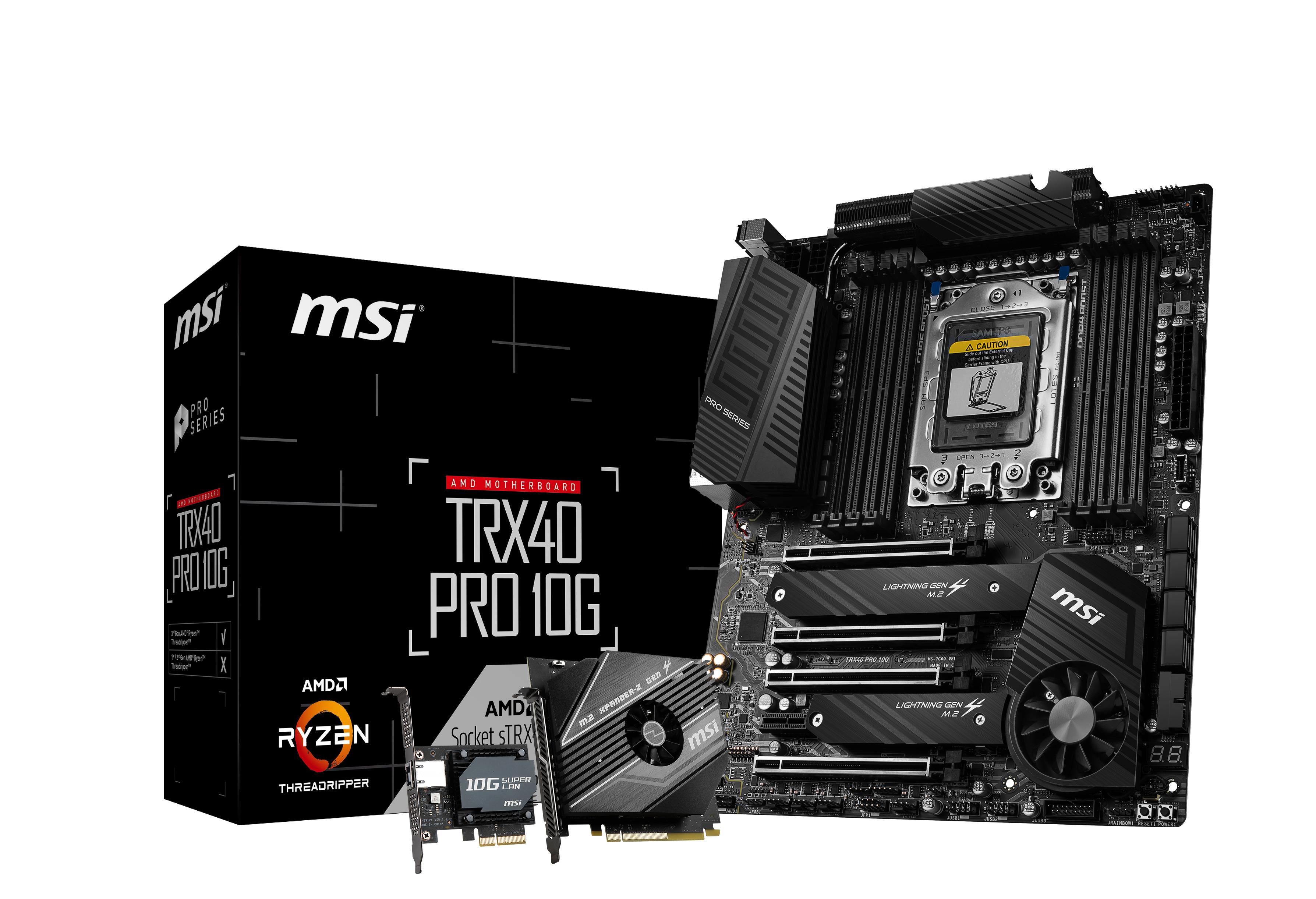 MSI - Motherboard MSI TRX40 PRO 10G