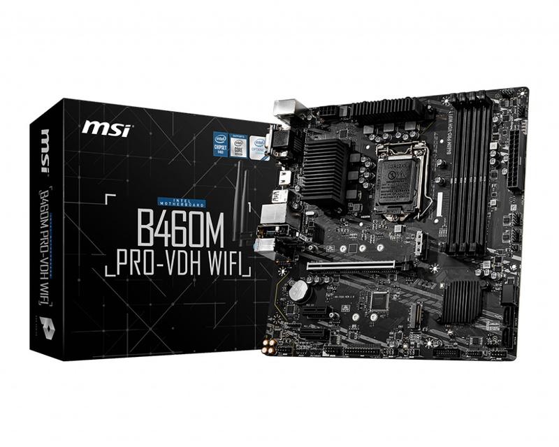 MSI - Motherboard MSI B460M PRO-VDH WIFI