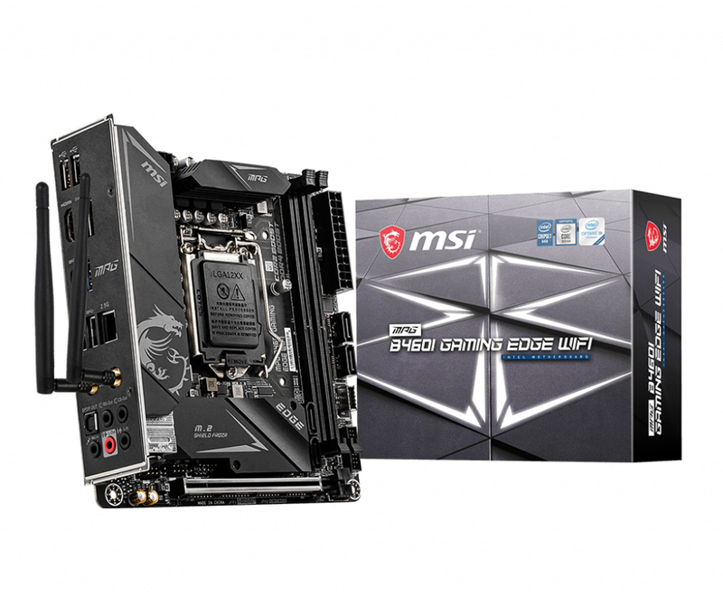 MSI - Motherboard MSI MPG B460I GAMING EDGE WIFI