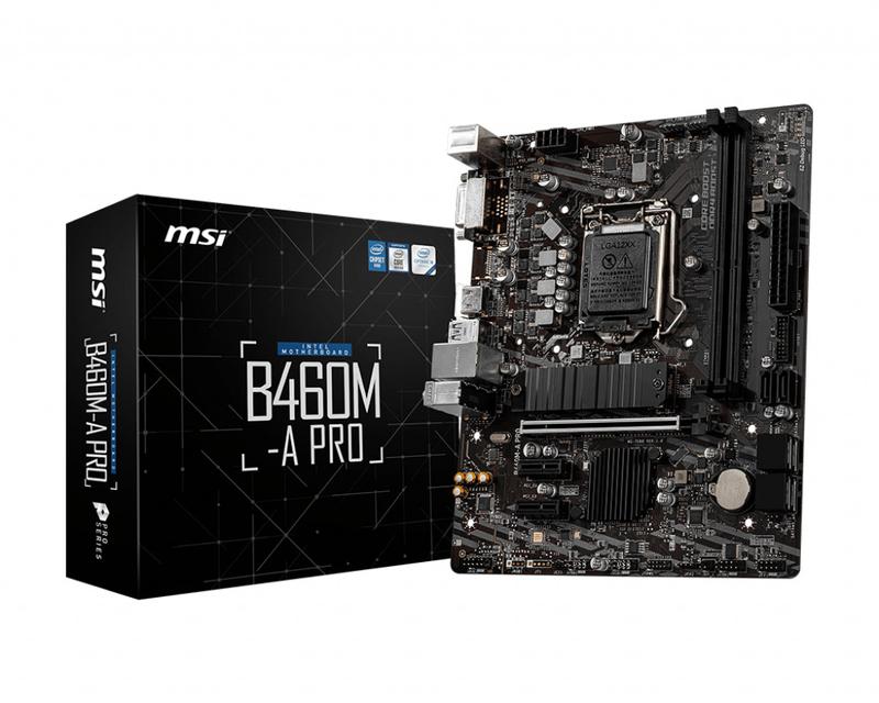 MSI - Motherboard MSI B460M-A PRO