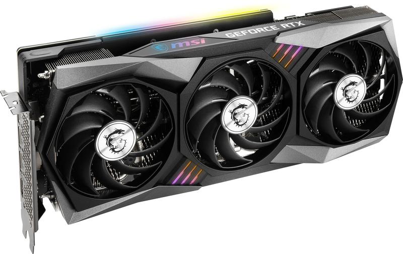 MSI - Gráfica MSI GeForce® RTX 3070 GAMING X TRIO 8G