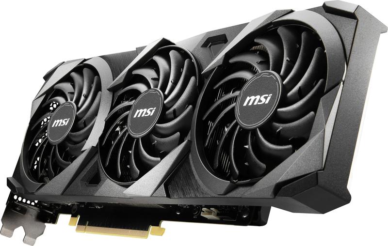 MSI - Gráfica MSI GeForce® RTX 3070 VENTUS 3X OC 8G