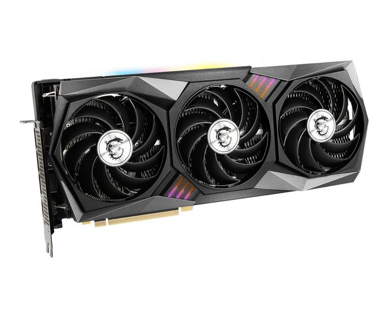 MSI - Gráfica MSI GeForce® RTX 3060 GAMING X TRIO 12G