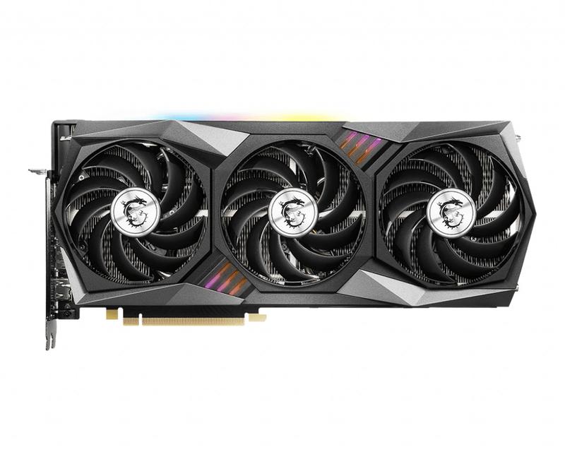 MSI - Gráfica MSI GeForce® RTX 3070 GAMING Z TRIO LHR 8G