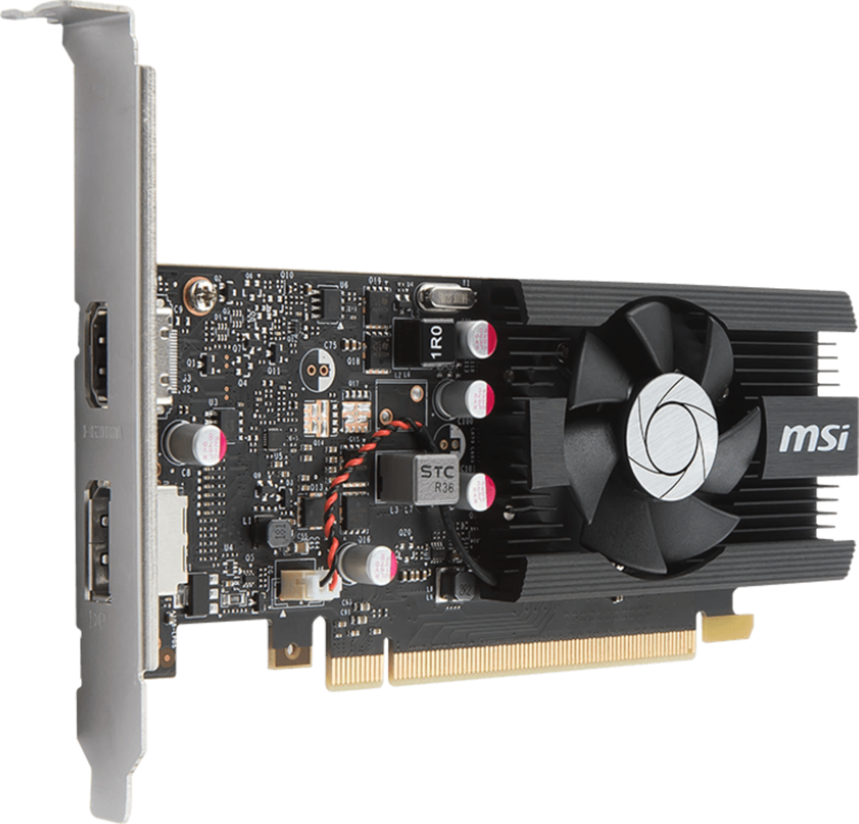 MSI - Gráfica MSI GeForce® GT 1030 LP OC 2G