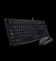 Teclado+Rato Logitech MK120 Desktop