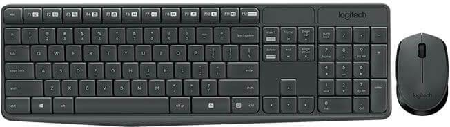Teclado+Rato Logitech MK235 Desktop Wireless (PT)