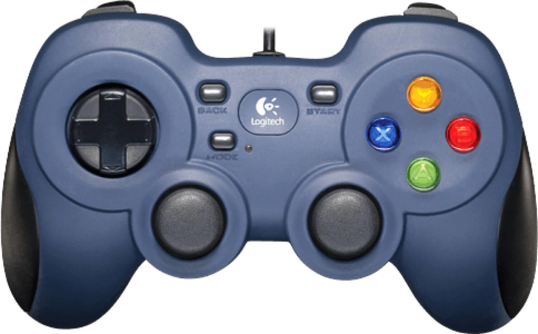 Gamepad Logitech F310 Preto / Azul