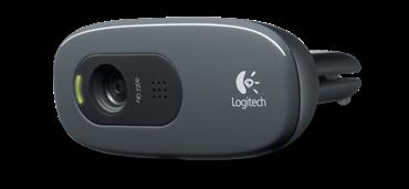 Logitech - Webcam Logitech C270 HD 720p
