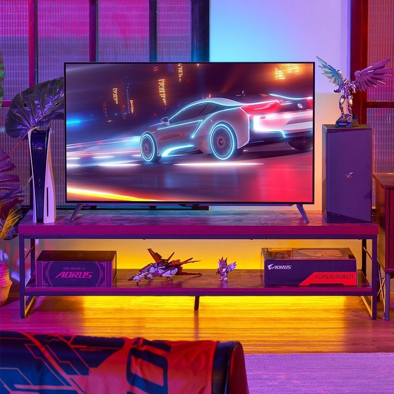 """Gigabyte - Monitor Gigabyte 48"""" AORUS FO48U OLED HDMI 2.1 4K 120Hz 1ms"""
