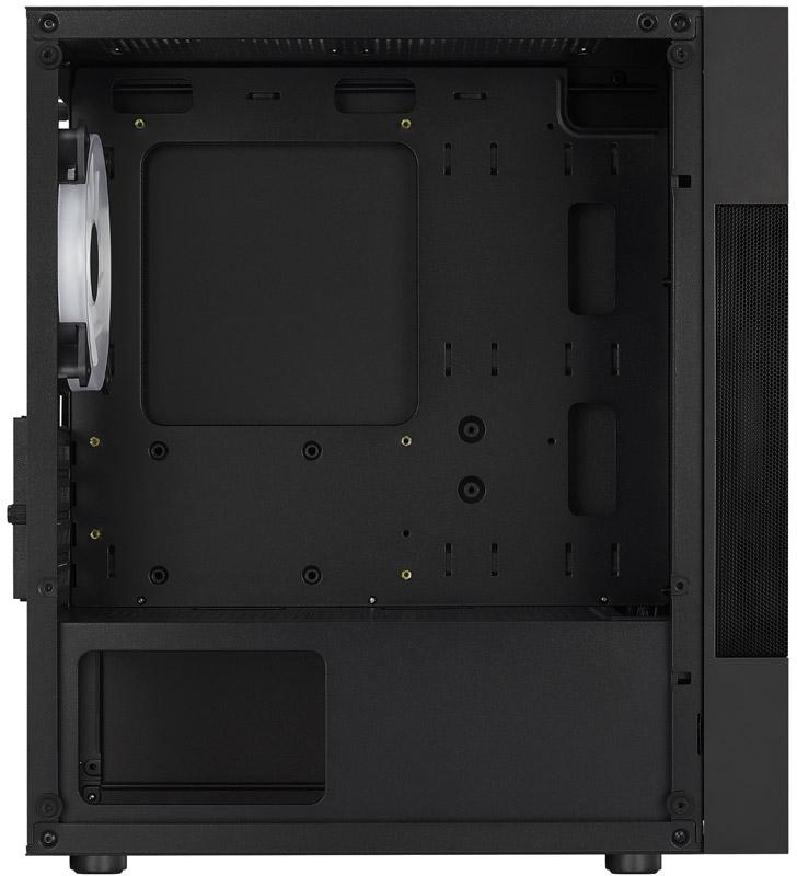 Aerocool - Caixa Micro-ATX Aerocool Atomic FRGB, frontal em Mesh, Vidro Temperado