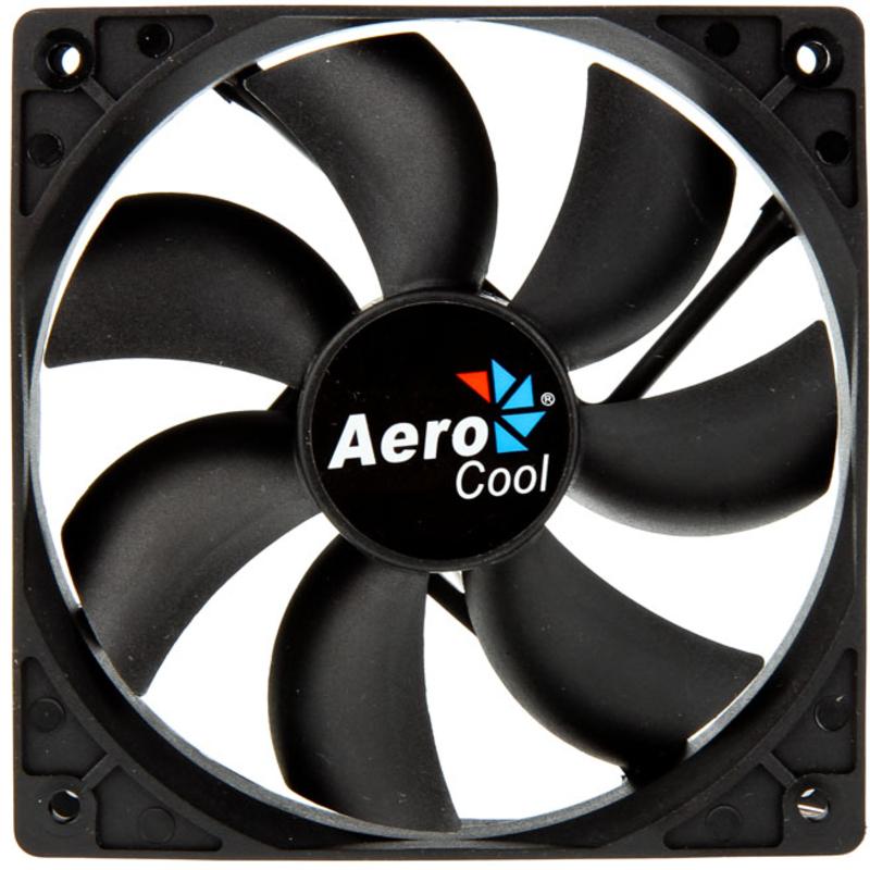Aerocool - Ventoinha Aerocool Dark Force preta - 120mm