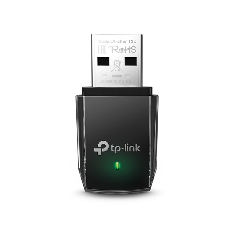 TP-Link - Placa de Rede TP-Link Archer T3U WiFi AC1300 MU-MIMO USB 3.0