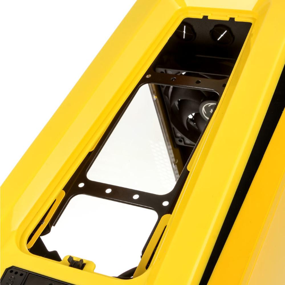 BitFenix - Caixa Micro-ATX BitFenix Aegis Core Amarelo / Preto