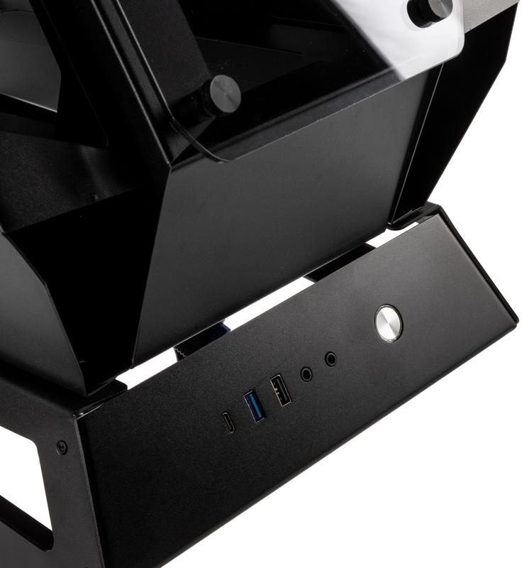 Kolink - Caixa Showcase Kolink Big Chungus UNIT Edition ARGB, Aluminio, Preta