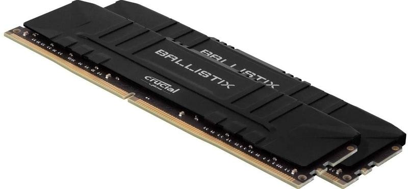 Crucial - Crucial Kit 32GB (2 x 16GB) DDR4 3600MHz Ballistix Black CL16