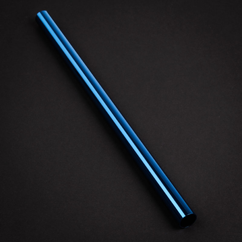 Tubo Rígido Bitspower None Chamfer Latão 16mm OD 300mm - Azul