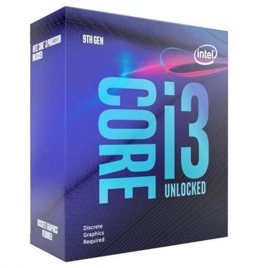 Processador Intel Core i3 9100 4-Core (3.6GHz-4.2GHz) 6MB Skt1151