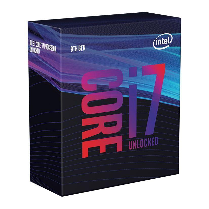 Processador Intel Core i7 9700KF 8-Core (3.6GHz-4.9GHz) 12MB Skt1151