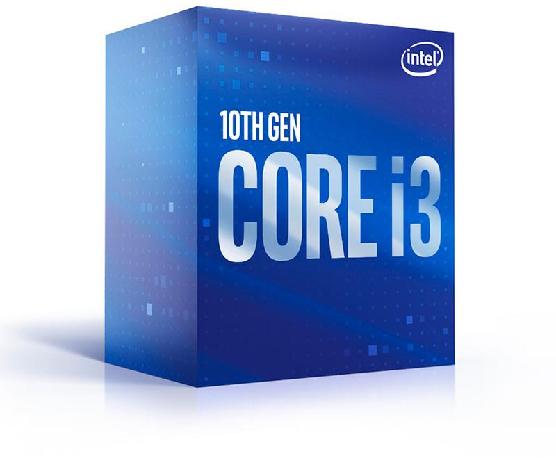 Intel - Processador Intel Core i3 10100F 4-Core (3.6GHz-4.3GHz) 6MB Skt1200