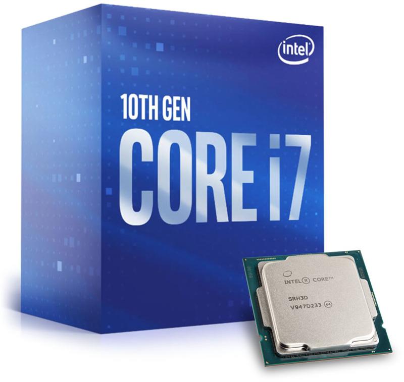 Processador Intel Core i7 10700 8-Core (2.9GHz-4.8GHz) 16MB Skt1200