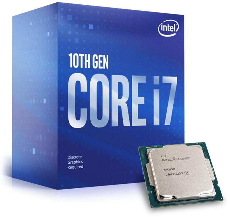 Processador Intel Core i7 10700F 8-Core (2.9GHz-4.8GHz) 16MB Skt1200