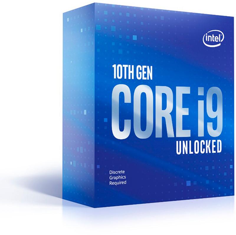 Intel - Processador Intel Core i9 10900KF 10-Core (3.7GHz-5.3GHz) 20MB Skt1200