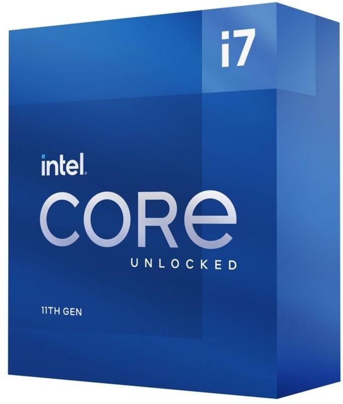 Intel - Processador Intel Core i7 11700K 8-Core (3.6GHz-5.0GHz) 16MB Skt1200