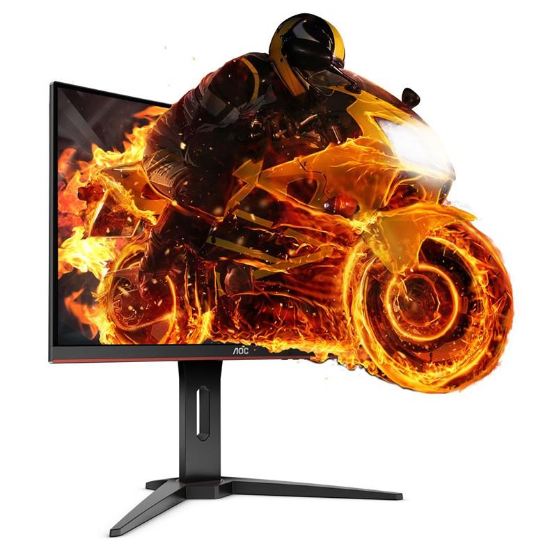 """Monitor AOC 23.6"""" Curvo C24G1 VA FHD 144Hz FreeSync 1ms"""