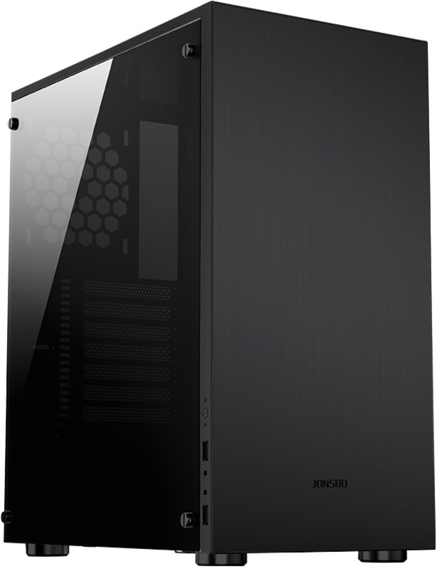 Jonsbo - Caixa ATX Jonsbo C5 Preta, Vidro Temperado