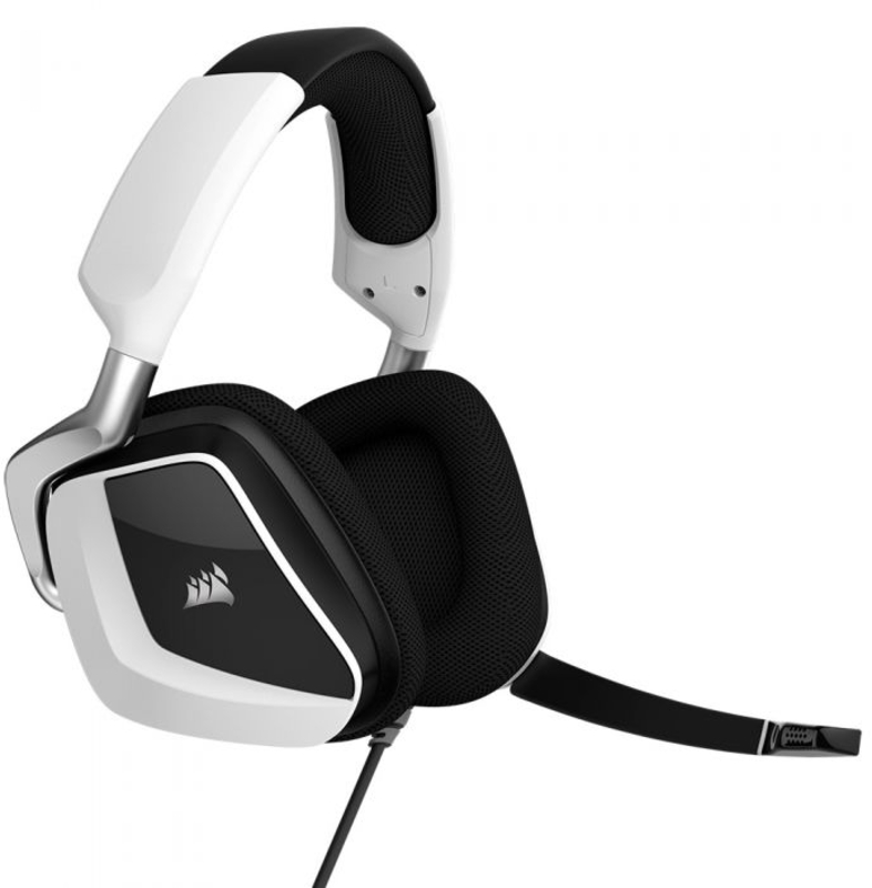Corsair - Auscultadores Corsair VOID Elite RGB 7.1 Branco (USB)