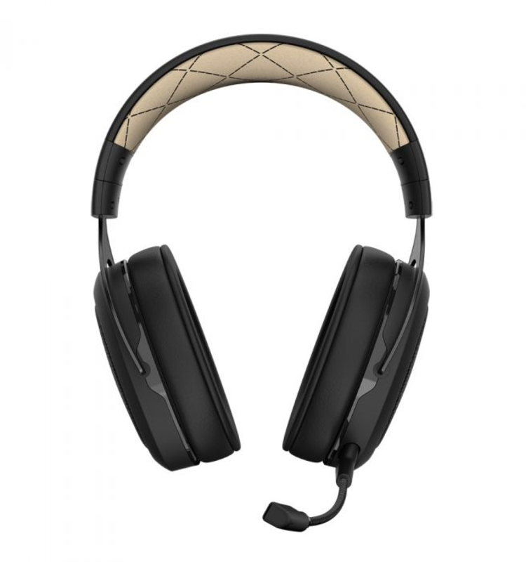 Corsair - Auscultadores Corsair HS70 Pro Wireless 7.1 Crème
