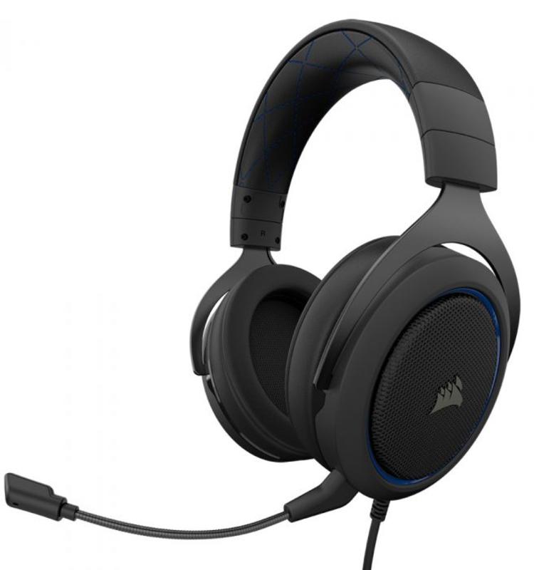 Corsair - Auscultadores Corsair HS50 Pro Stereo Azul