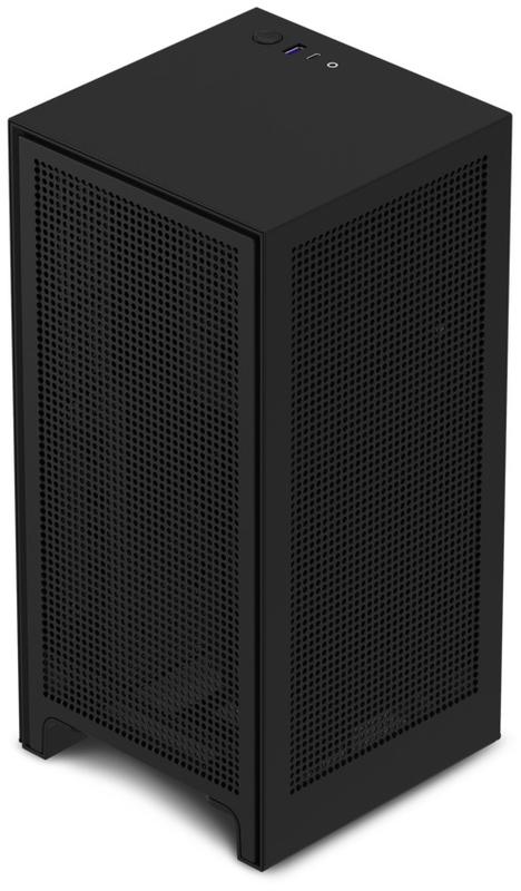NZXT - Caixa Mini-ITX NZXT H1  c/ Fonte 650W Preto Vidro Temperado