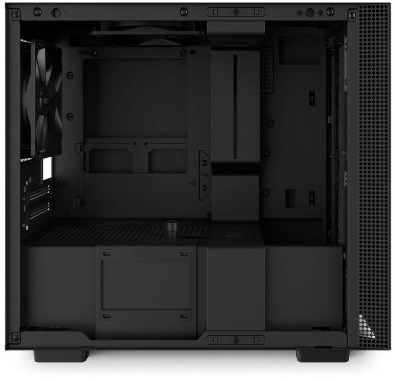 NZXT - Caixa Mini-ITX NZXT H210i Preto Mate