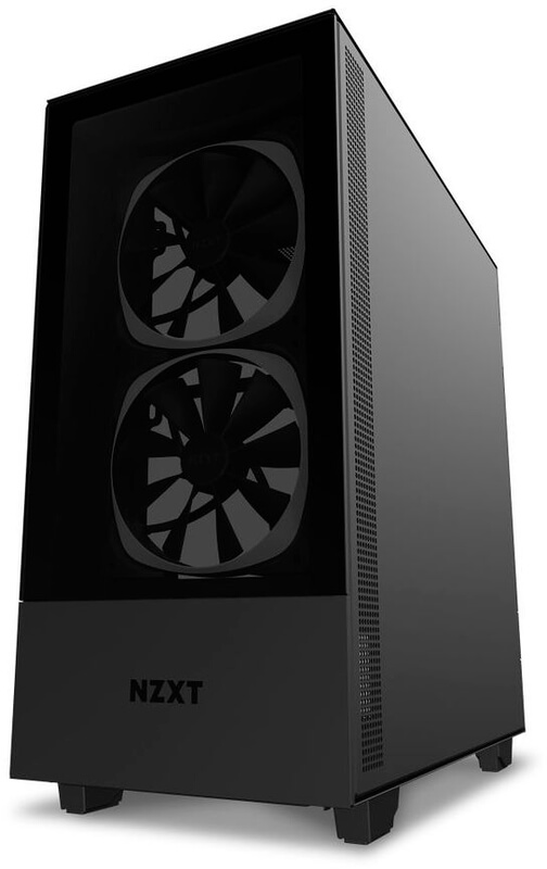 NZXT - Caixa ATX NZXT H510 Elite Preto Mate Vidro Temperado