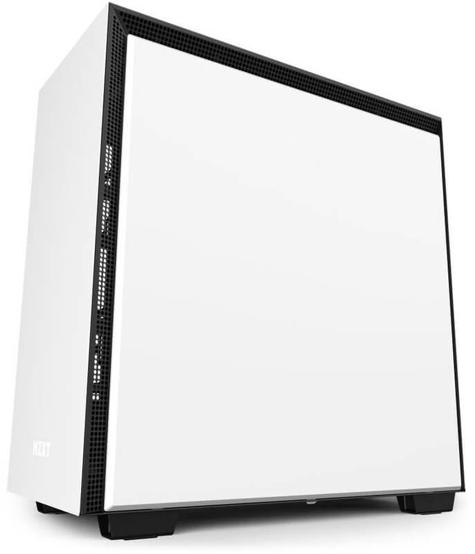 NZXT - Caixa E-ATX NZXT H710 Branco Mate Vidro Temperado