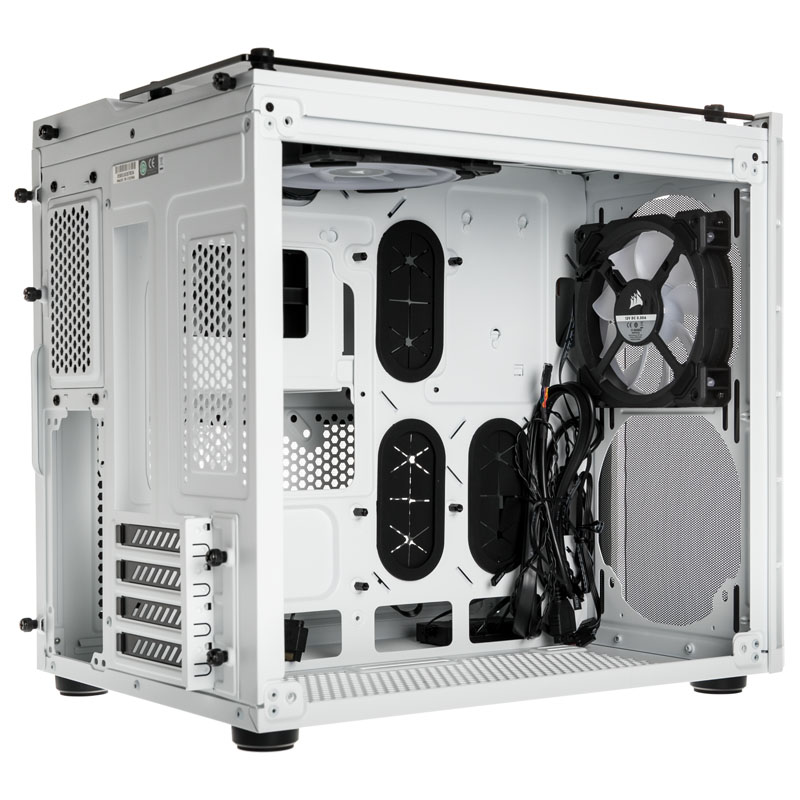 Corsair - Caixa ATX Corsair Crystal 280X RGB Branco Vidro Temperado