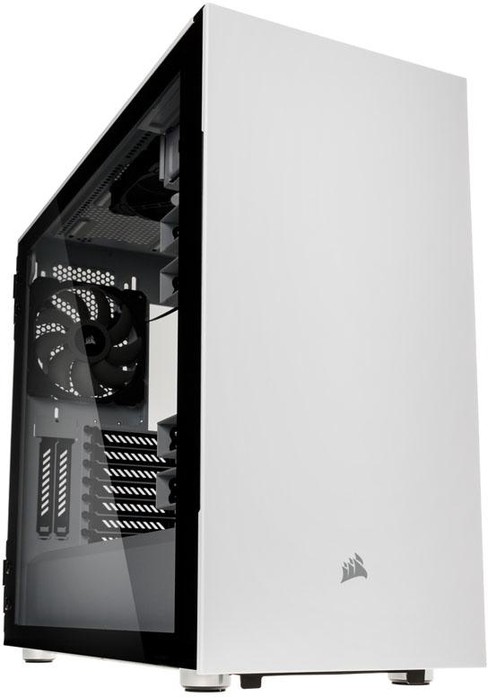 Caixa ATX Corsair Carbide 678C Silent Branco Vidro Temperado