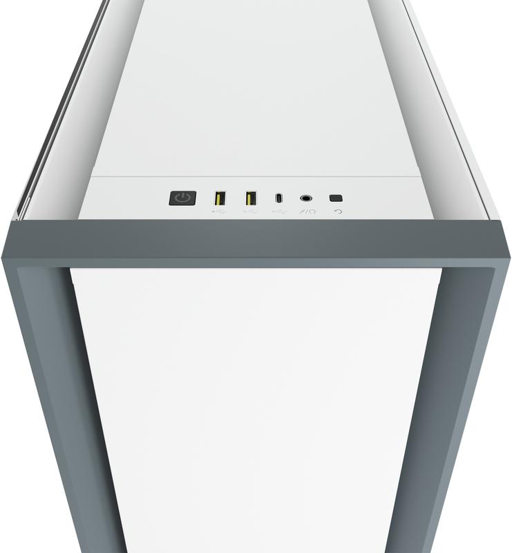 Corsair - Caixa E-ATX Corsair 5000D Branco Vidro Temperado