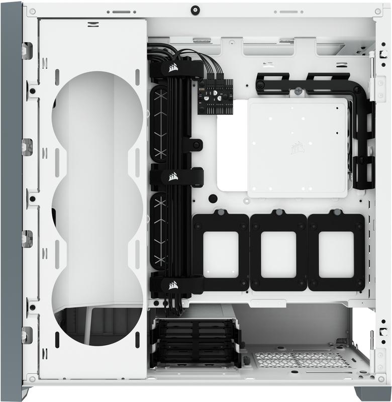 Corsair - Caixa E-ATX Corsair 5000D Airflow Branco Vidro Temperado