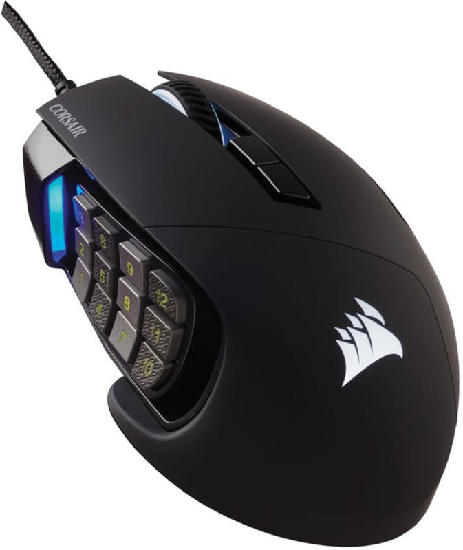 Corsair - Rato Corsair Scimitar Elite RGB 18000DPI