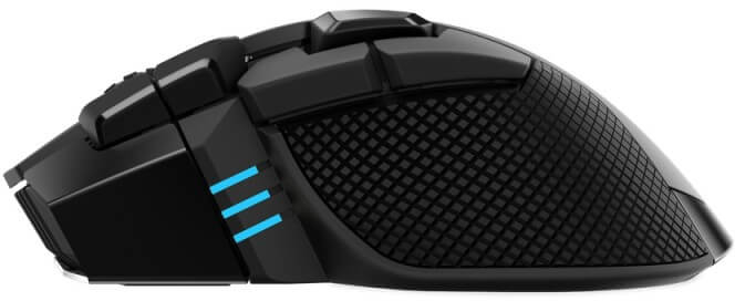 Corsair - Rato Corsair Ironclaw RGB Wireless  18000DPI