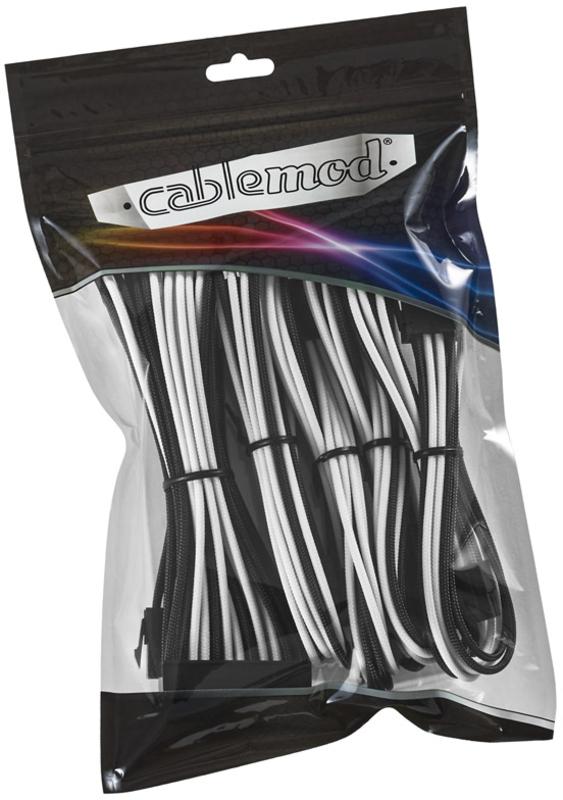 CableMod - Kit de Expansão CableMod Classic ModMesh - 8+6 Series - Preto / Branco
